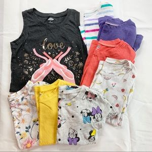 Lot of 8 Old Navy 4T Girls Tee-Shirts